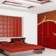 Interior of modern bedroom 3d render